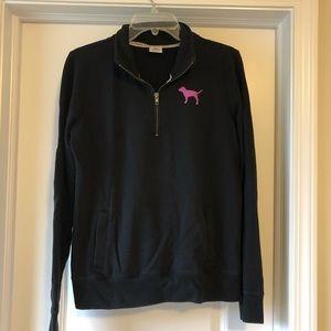 VS Pink 3/4 Zip Pullover